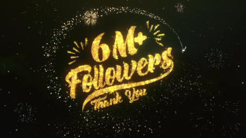 6M+ Followers Followers Animation