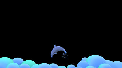 Dolphin Jumping Animation