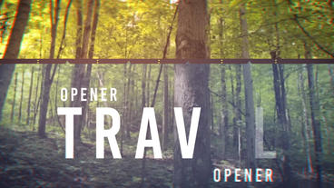 Travel Opener After Effects Template