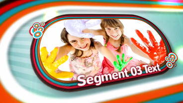 Kids Slideshow After Effects Templates