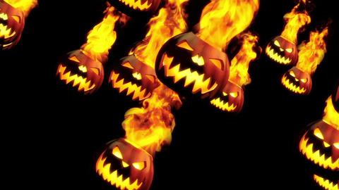 Fire pumpkins Animation