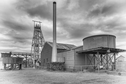 Gold Mine, Kalgoorlie, Western Australia Photo