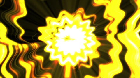 yellow light flower background CG動画