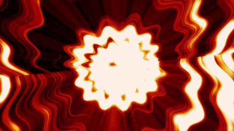fire light flower background CG動画素材