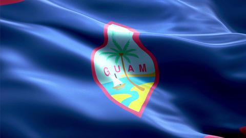 Flag Guam Animation