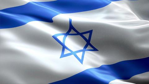 Flag Israel Animation
