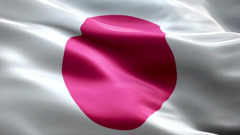 Flag Japan Animation
