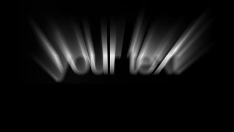Light burst text - 1