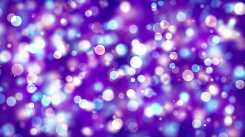 Smooth slow purple Abstract blinking glowing Glittering dust Particles loop Animation