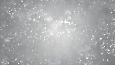 Round loop blinking Abstract blinking glowing Glittering dust Particles loop Animation