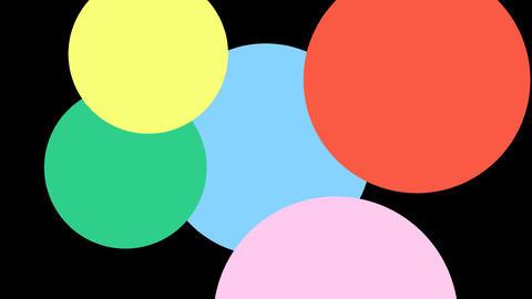 動く球体のエフェクト CG動画素材