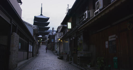 4K Kyoto Gion Higashiyama 영상물