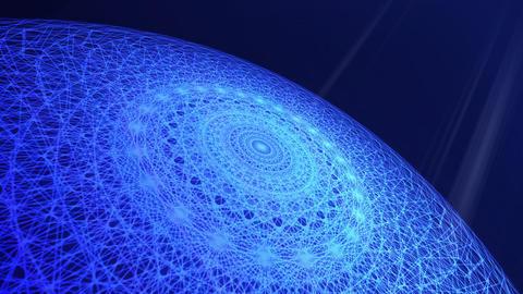 blue planet background 02 動画素材, ムービー映像素材