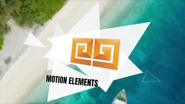 Color Triangle Title Premiere Pro Template