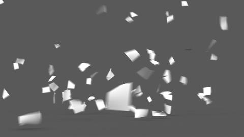 Flying Papers Animation