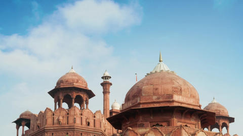 The Red Fort outside view Live Action