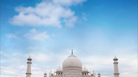 Taj Mahal Agra India daytime Footage