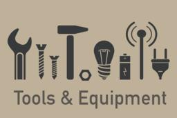 Tools and equipment elements ベクター