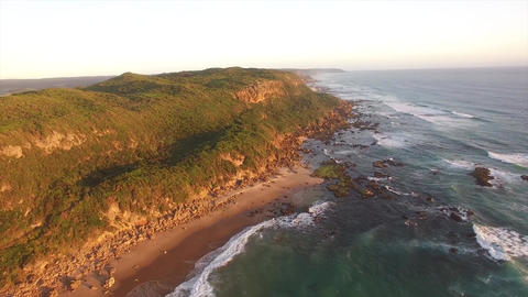 Great Ocean Road, Castle Cove in Glenaire, Great Otway National Park, Australia Footage