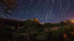 Long exposure photography stars Footage