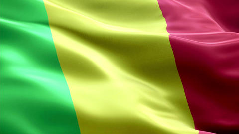Flag Mali Animation