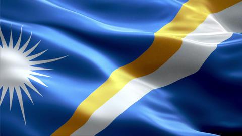 Flag Marshall-Islands Animation