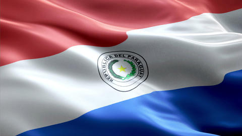 Flag Paraguay Animation