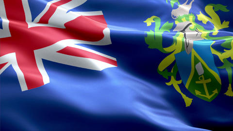 Flag Pitcairn-Islands Animation