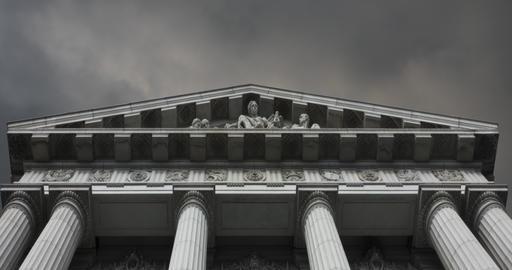 Court House CG動画素材