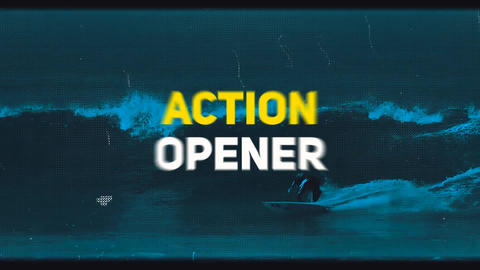 Action Opener Premiere Pro Template