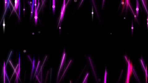 Purple Light Flares Animation