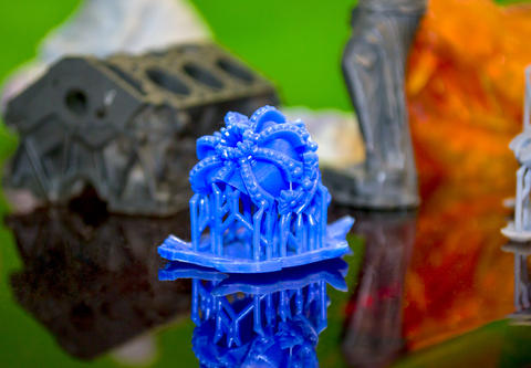 Objects photopolymer printed on a 3d printer フォト