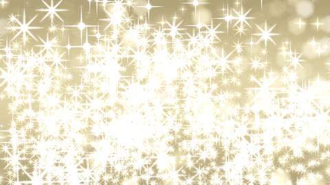 twinkle gold and shine CG動画素材