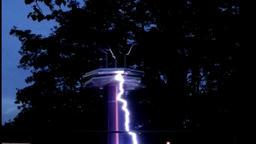 Current voltage energy somersault Footage