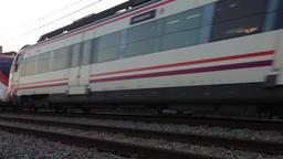 Train transport public transport Footage
