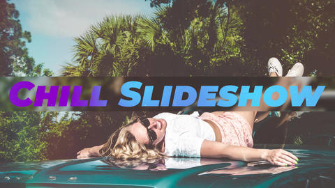 Chill Slideshow After Effects Template