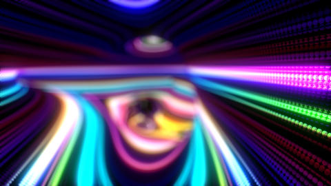 Abstract Colorful Stripes Stock Video Footage