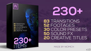 230 Premiere Pro Elements Big Pack Premiere Pro Template
