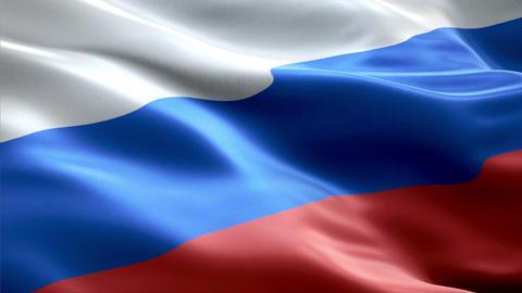 Flag Russia Animation