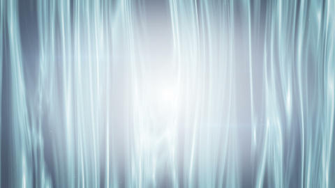 white curtains waving seamless loop animation Animation