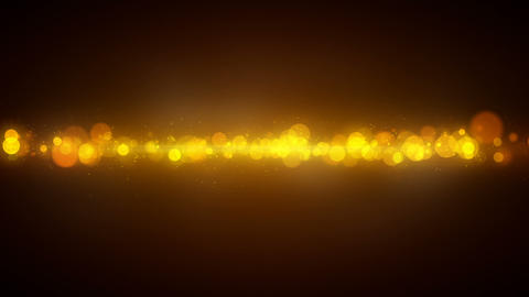yellow circles soft background seamless loop Animation