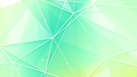 cyan triangles and lines pattern seamless loop Animation