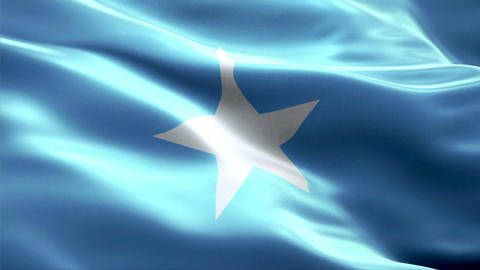 Flag Somalia Animation