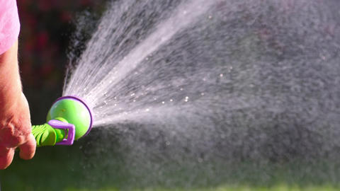 Manual garden sprayer GIF