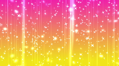 shining star rising background yellow pink 動画素材, ムービー映像素材