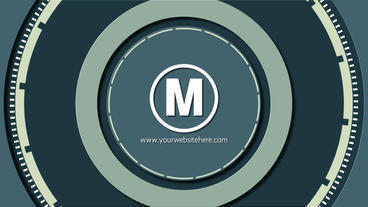 Circles Epic Simple Flat Logo After Effects Template
