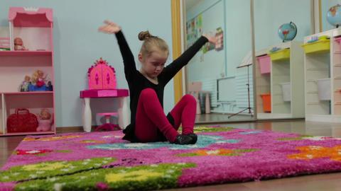 The Little Girl Dancer Footage