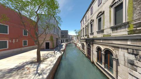 Landscape of Venice GIF