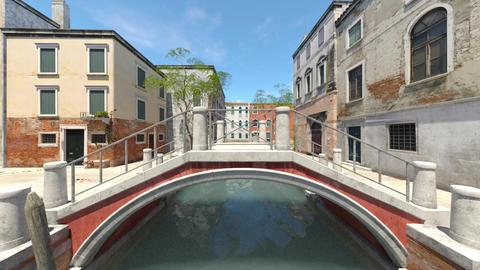 Landscape of Venice Animation