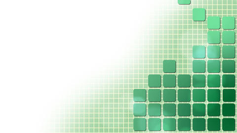 Green Squares Puzzle Background Stock Video Footage